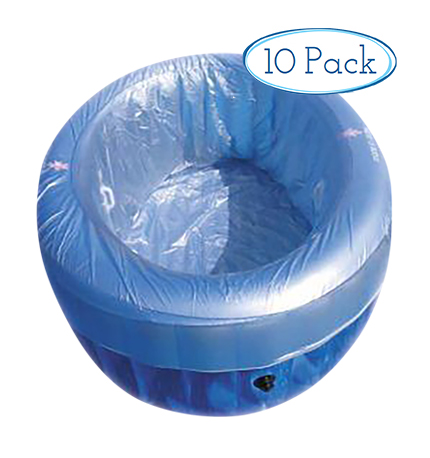 Disposable liner - pool in a box